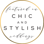 Featured on Chic and Stylish weddings